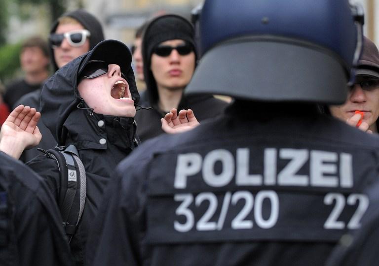 В Берлине 30 налетчиков атаковали посольство Ирана
