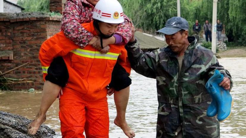 От наводнений на востоке Китая в июне пострадали 666 тыс. человек