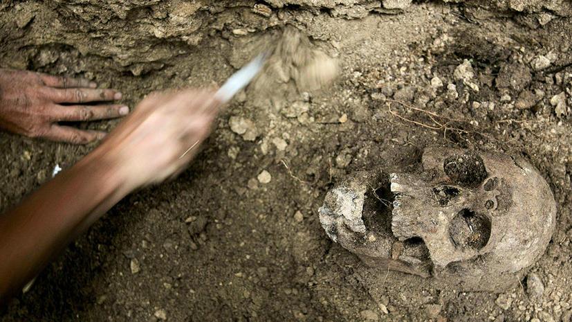 В Мексике обнаружены 150 черепов людей, принесенных в жертву богам