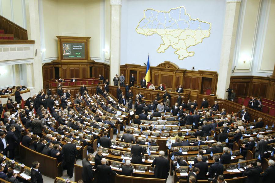 Верховная Рада Украины съехала из здания парламента
