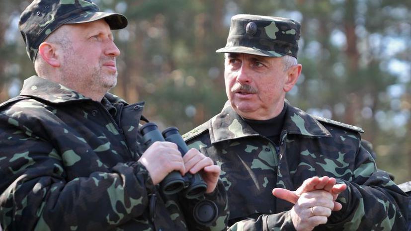 И.о. президента Украины Александр Турчинов подписал указ о спецоперации на востоке страны