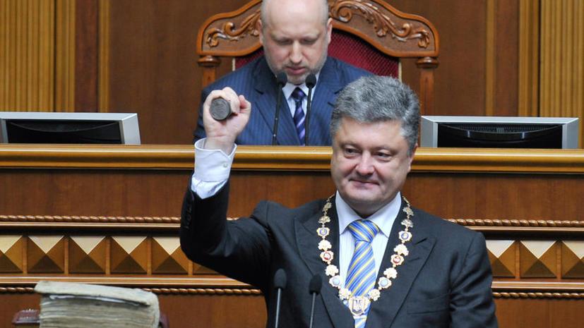 Неделя президентства Порошенко: Штурм российского посольства, оскорбления в адрес Путина, захват российских репортёров