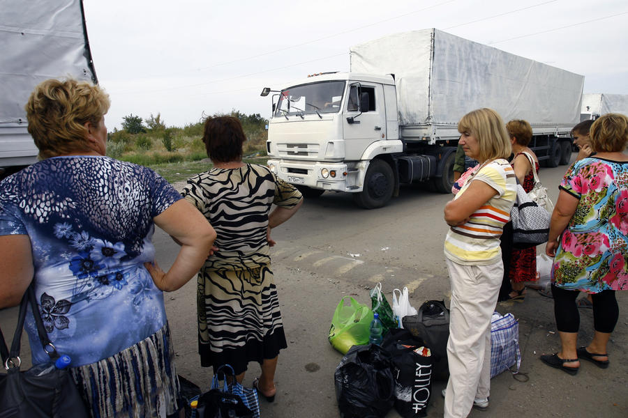 Экс-аналитик ЦРУ: Российский гуманитарный конвой прорвал блокаду востока Украины