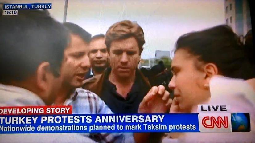 Беспорядки в Стамбуле: В прямом эфире задержан репортёр CNN