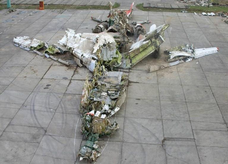 Россия не отдаст Польше обломки самолета Качиньского