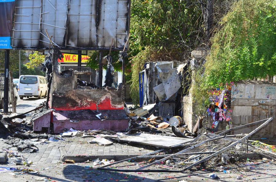Миномётный обстрел в Дамаске: 25 человек погибли