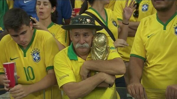 Разгром бразильцев в полуфинале ЧМ-2014 взорвал социальные сети