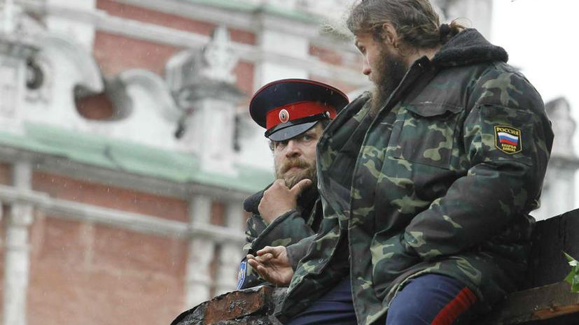 Московские казаки начнут зарабатывать на охране правопорядка