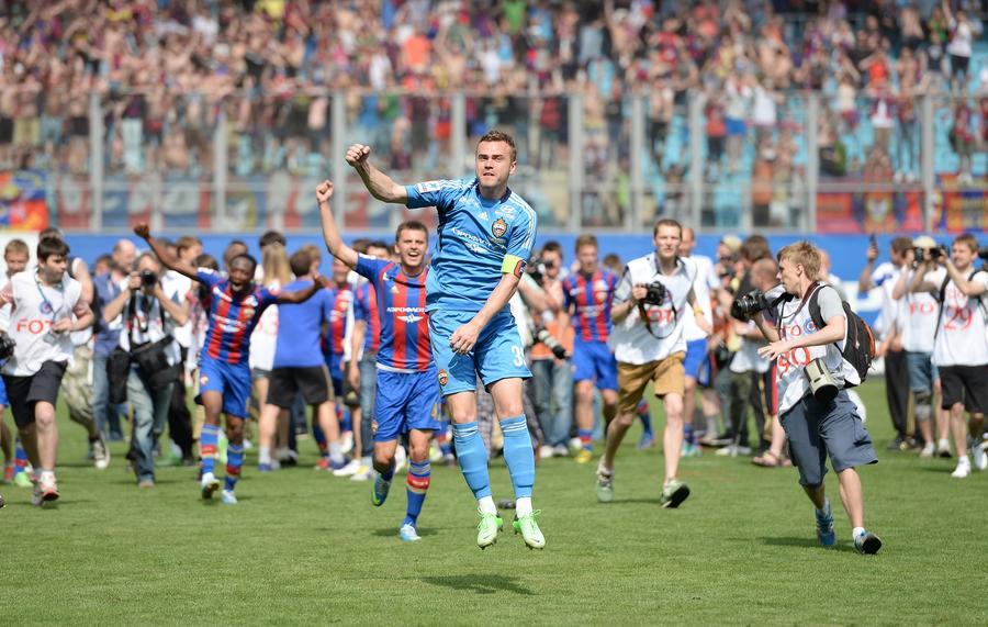 Игорь Акинфеев признан лучшим футболистом чемпионата России
