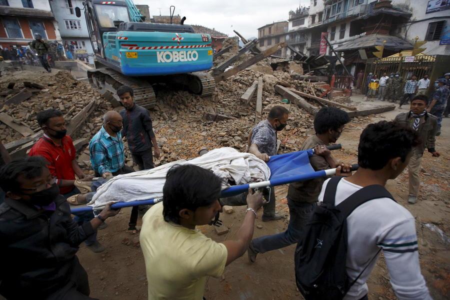 Землетрясение в Непале — фото и видео с места трагедии