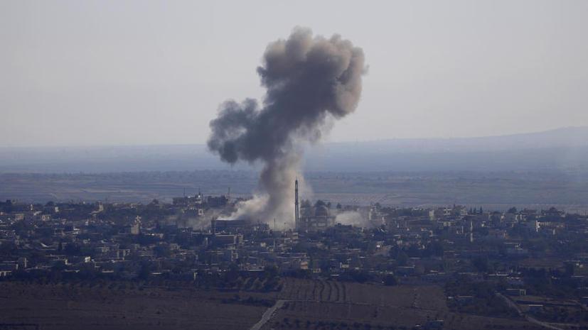 Центральное командование: США продолжили наносить удары по позициям ИГ в Сирии и Ираке