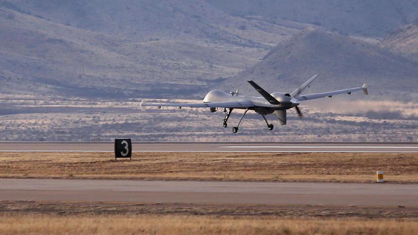 Экс-пилот американских ВВС: США координируют полёты беспилотников на Ближнем Востоке с авиабазы в Германии
