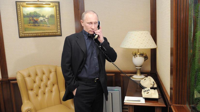 Владимир Путин и Пётр Порошенко обсудили шаги по мирному урегулированию кризиса на Украине