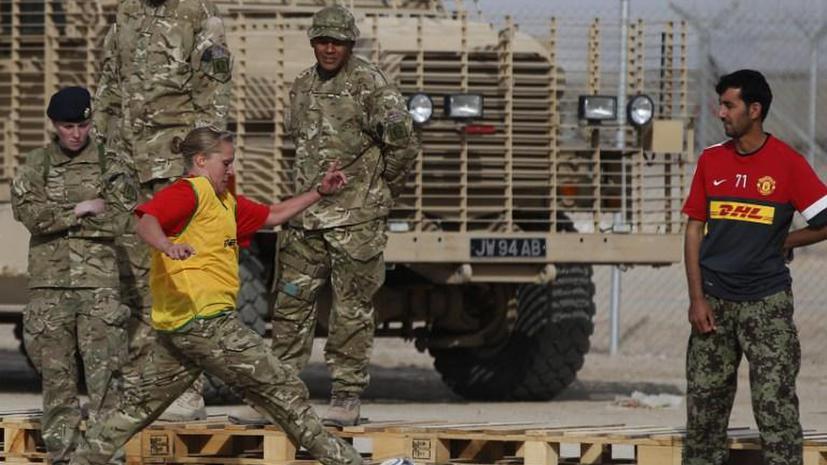 Британские военные распродают оставшееся в Афганистане оборудование через кувейтскую фирму