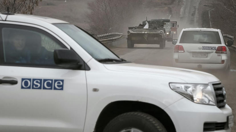 Представители миссии ОБСЕ посетили Дебальцево