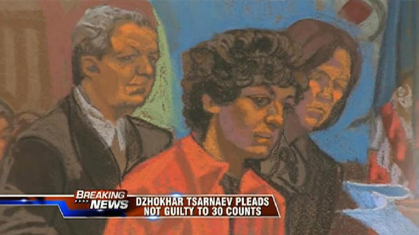 Первое заседание суда над Джохаром Царнаевым: обвиняемый настаивает на своей невиновности