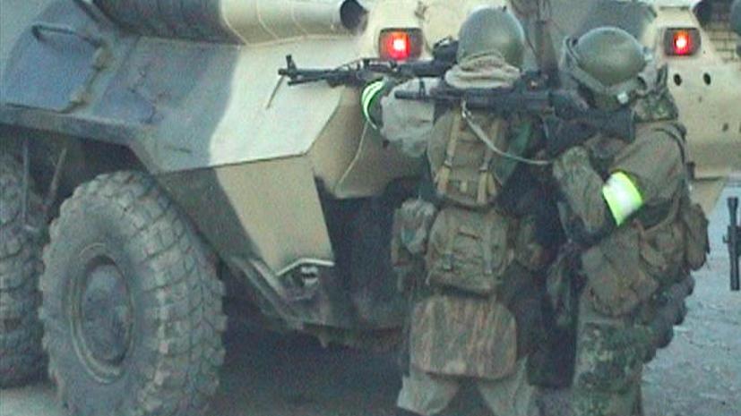 Трое полицейских и пограничник убиты в перестрелке с боевиками в Дагестане