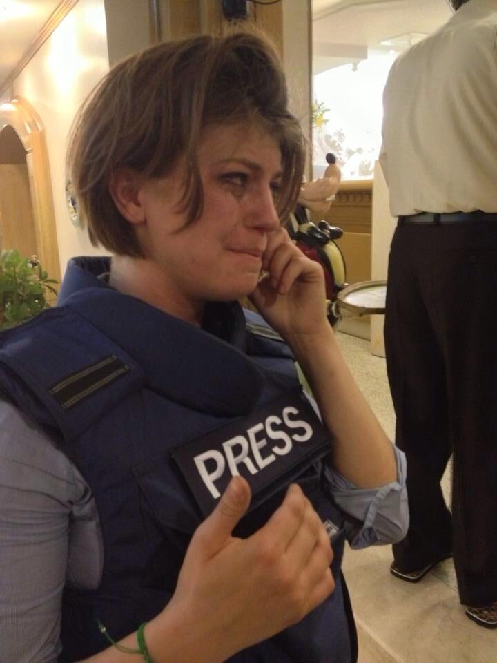 Съемочная группа RT пострадала в Турции во время распыления слезоточивого газа