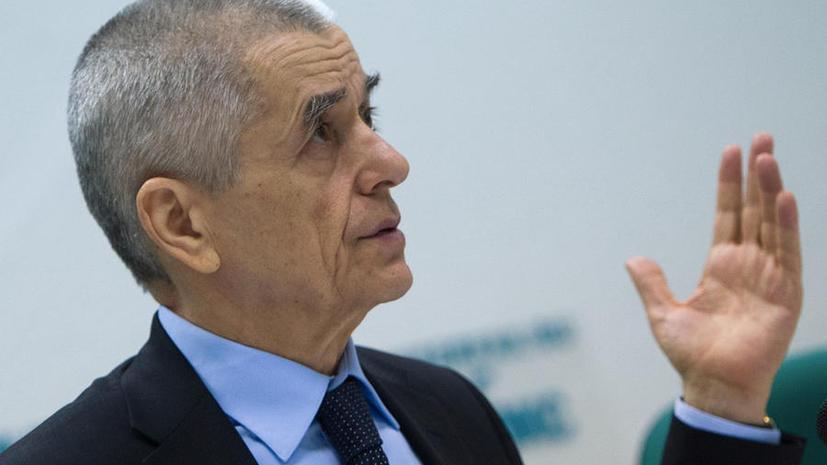 Геннадий Онищенко предложил вернуть внезапные проверки бизнеса