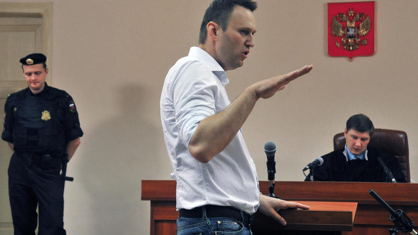 Прокурор потребовал приговорить Алексея Навального к шести годам лишения свободы