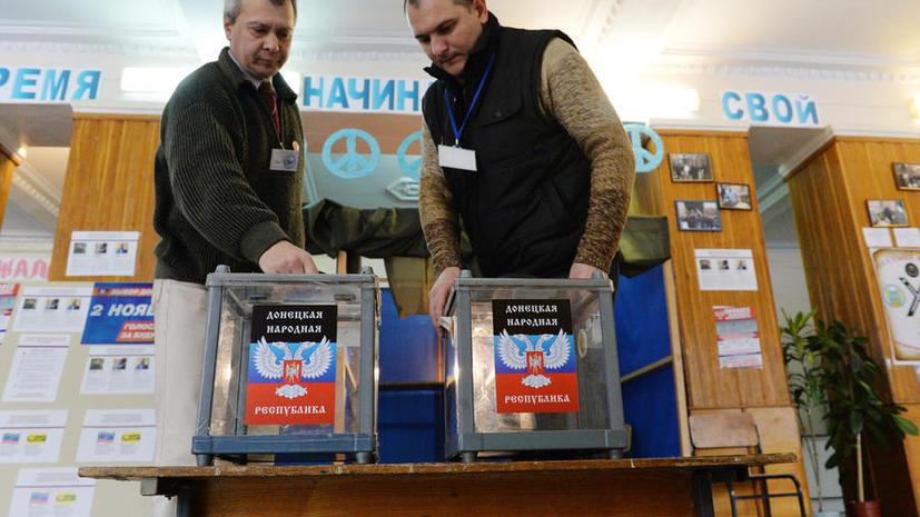 В ДНР и ЛНР открылись участки для голосования