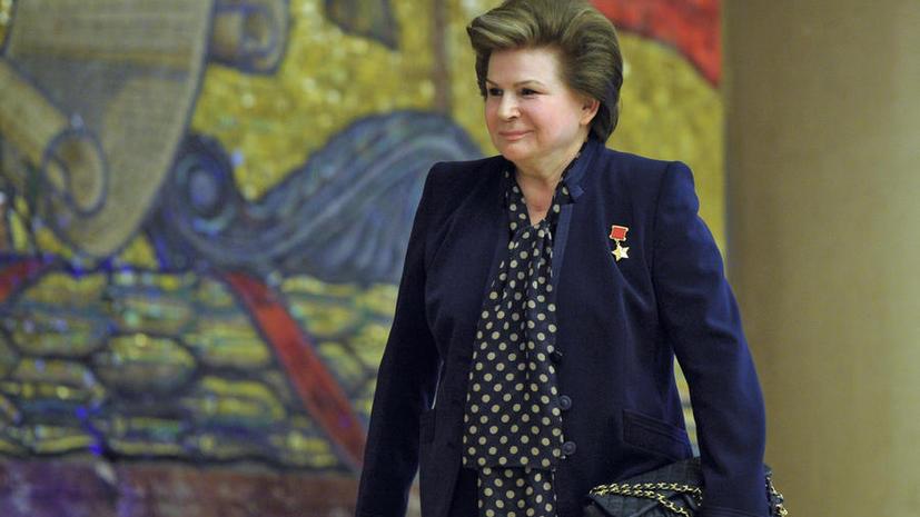 Валентина Терешкова готова отправиться на Марс, даже если полёт будет в одну сторону