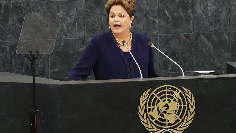 На открытии Генассамблеи ООН президент Бразилии раскритиковала США за слежку