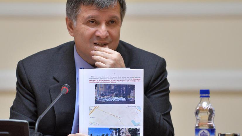 И.о. главы МВД Украины: Россиян среди задержанных в Харькове нет