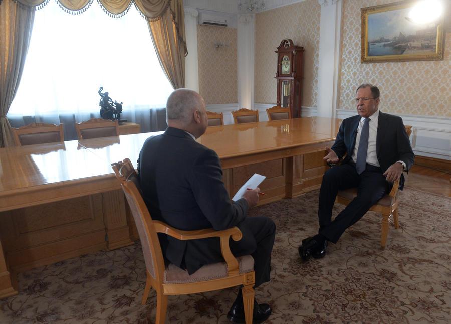 Сергей Лавров: Петру Порошенко следует нейтрализовать всех, кто хочет гражданской войны на Украине