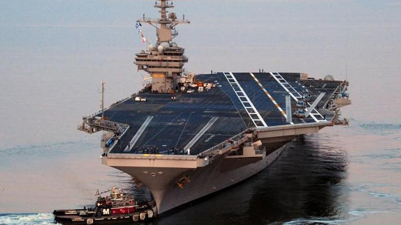 Пребывание американского авианосца в Чёрном море грубо нарушит нормы международного права