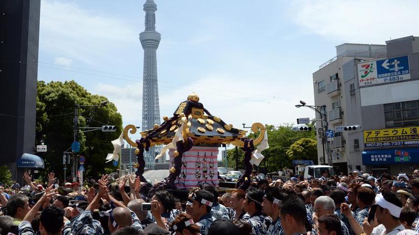 В Японии началось вещание с самой высокой телебашни мира