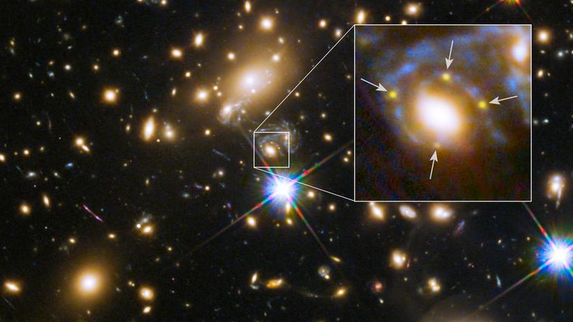 СМИ: Телескоп «Хаббл» помог учёным подтвердить теорию относительности Эйнштейна