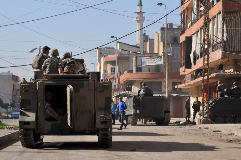 В Ливане вспыхнули столкновения между суннитскими и алавитскими боевиками