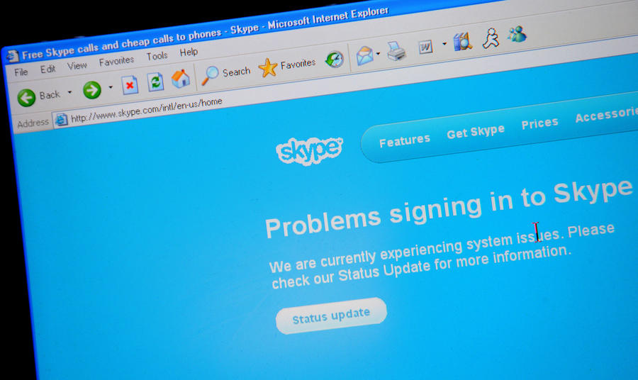 Skype во Франции подвергнут прослушке или закроют