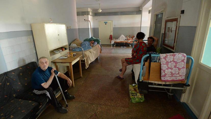 ВОЗ: Пациенты больниц на Украине умирают от голода и холода