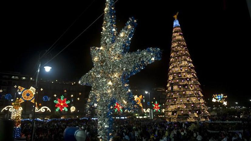 Мексиканская наркомафия поздравила народ страны с Рождеством