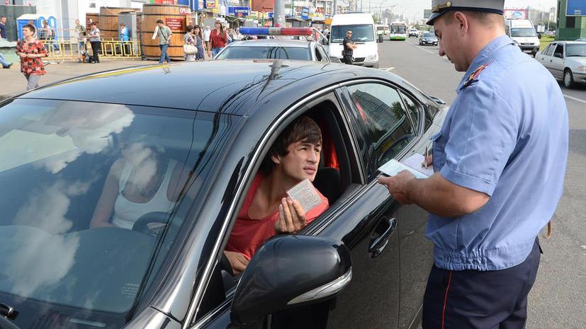 Российские водители за год нарушили правила на 720 млн рублей
