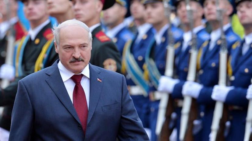 Президент Белоруссии Александр Лукашенко встретился с Александром Турчиновым
