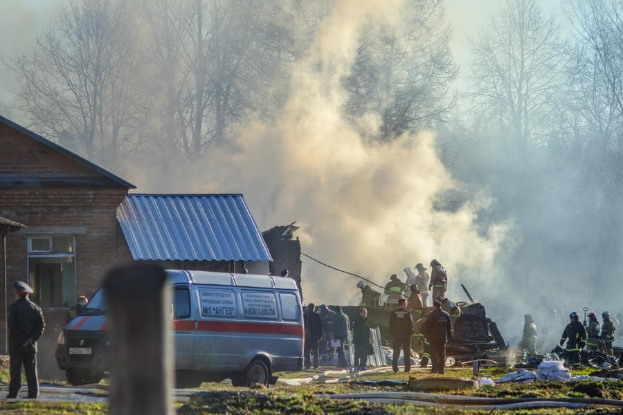СК: причиной пожара в подмосковной психбольнице мог стать поджог