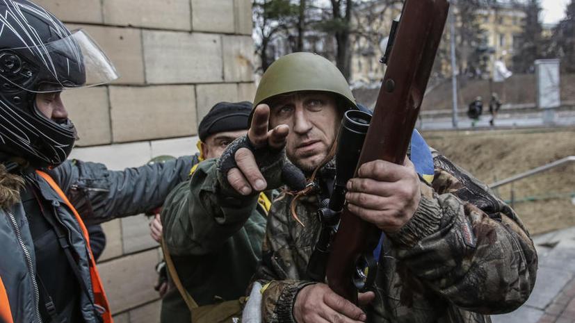 МВД Украины: Любые вооружённые формирования на территории страны являются незаконными