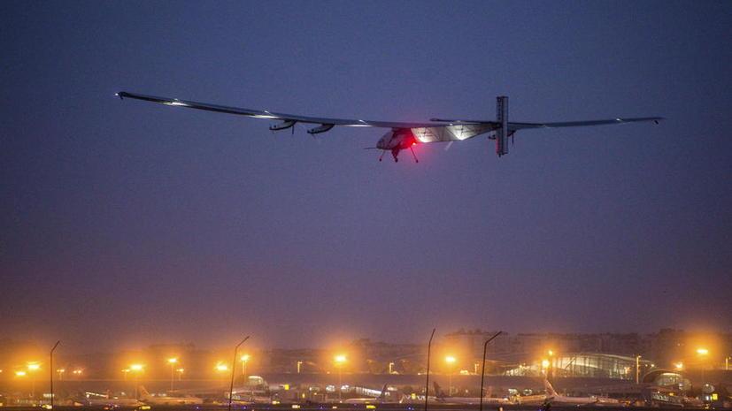 Без капли топлива: самолёт на солнечных батареях Solar Impulse 2 начал труднейший этап кругосветки