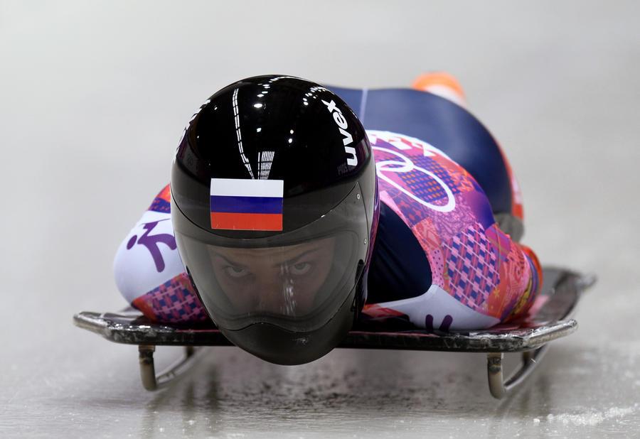 Россиянка Елена Никитина выиграла бронзовую медаль Олимпиады по скелетону
