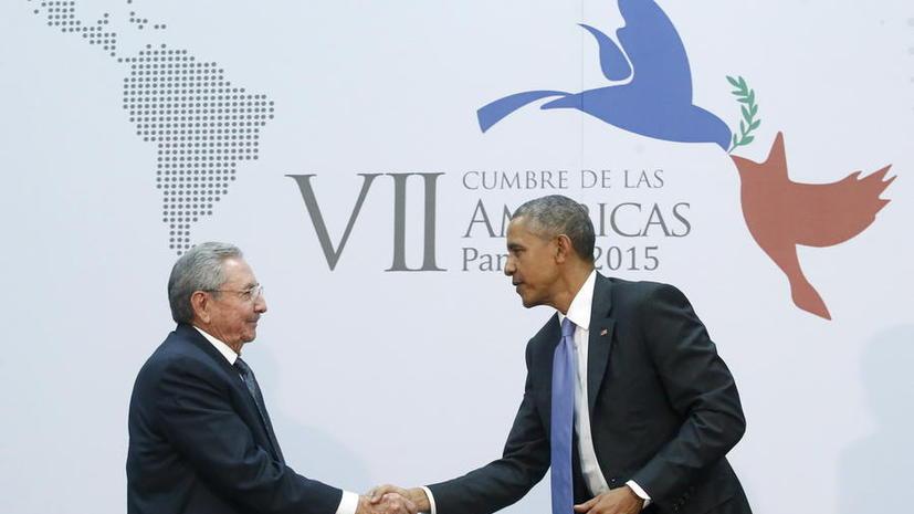Лидеры США и Кубы провели переговоры впервые за 50 лет