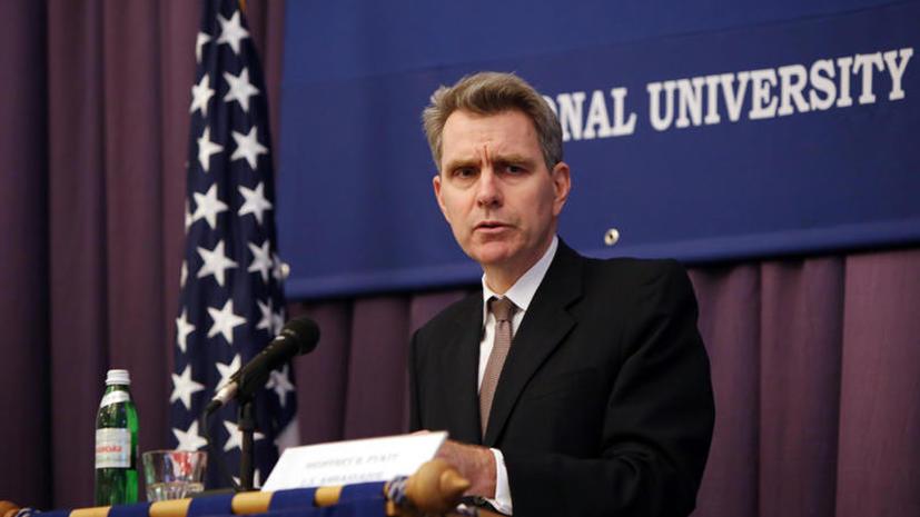 Американский посол на Украине: США не желают отставки Януковича