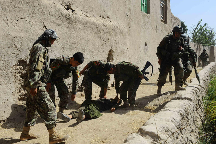 Талибы атаковали военную базу США в Афганистане