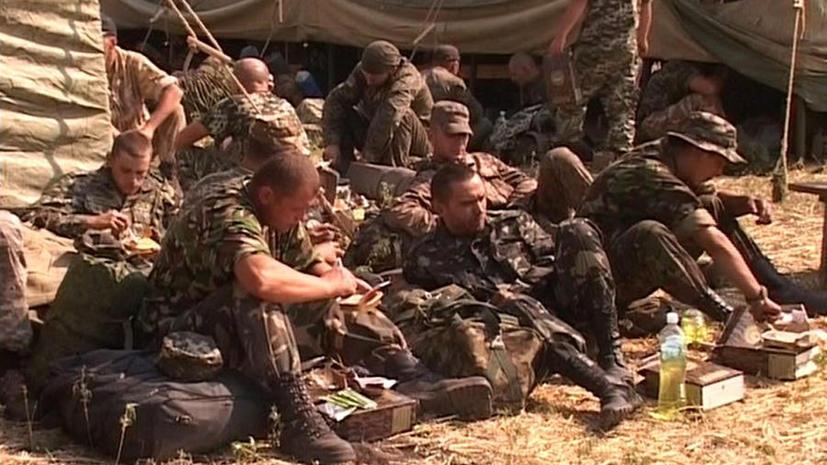Представители американских СМИ проигнорировали встречу с украинскими военными в Ростовской области