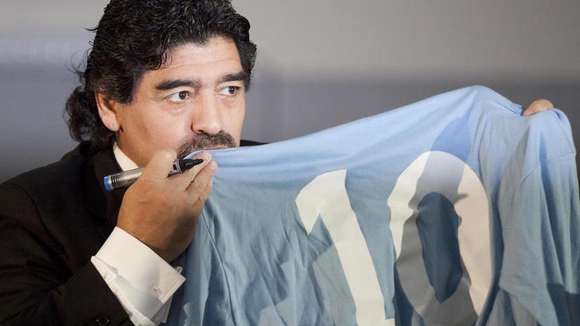 Диего Марадоне отказали в американской визе