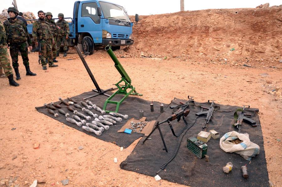 Судан поставляет оружие сирийским боевикам в обход международных запретов