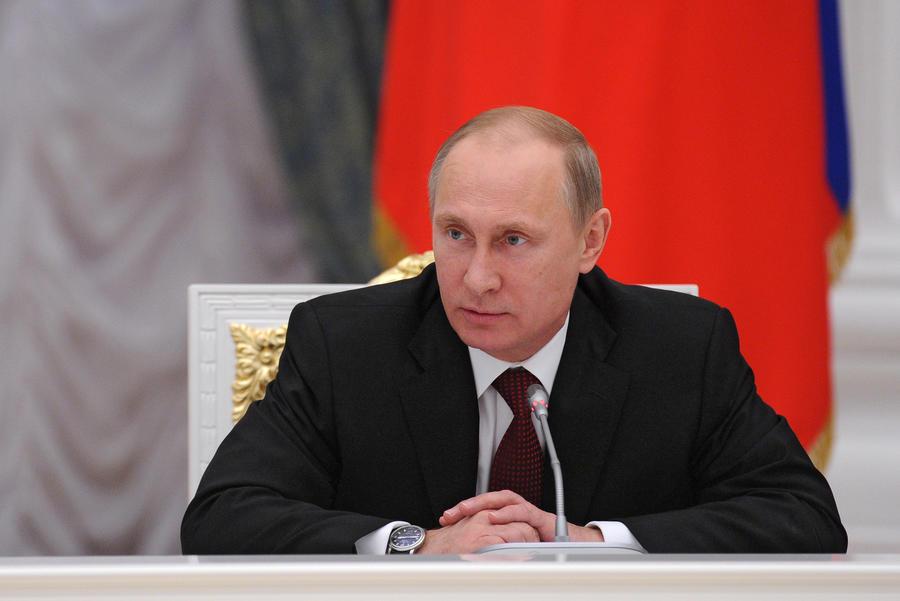 Британская газета The Times назвала Владимира Путина человеком года