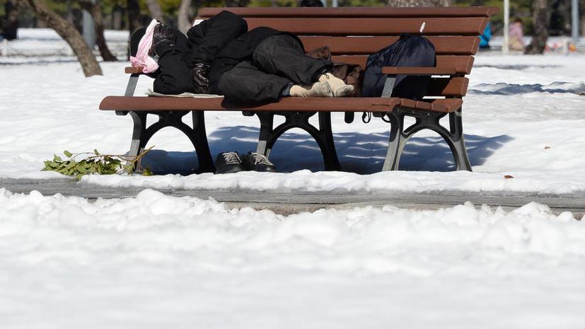 В Великобритании всё больше людей вынуждены ночевать на улицах